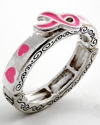 """""""Breast Cancer Awareness"""" and support Ring"""