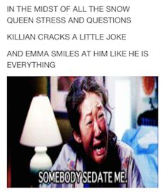 Pretty much how everyone feels about Captain Swan: