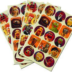 Disney Muppets Stickers ~ 120 Stickers