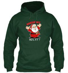 Christmas T Shirt 2016  Forest Green T-Shirt Front