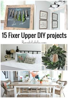 Fixer Upper Inspired Farmhouse Laundry Sign + Free Template