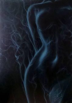 Original Abstract Painting by Mikhail Starchenko Body Art Photography, Air Brush Painting, Woman Painting, Sexy Painting, Erotic Art, Belle Photo, Black Art, Love Art, Female Art