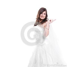 Happy and smiling bride - luxury, seductive, elegance, young, gorgeous, face, clothes, attractive, umbrella, white, feminine, caucasian, modern, beauty, style, cute, girl, silk, bride, bridal, human, model, sexy, fashion, makeup, pretty, female, posing, marriage, nice, pearls, person, hairstyle, femininity, make-up, sensuality, long, woman, jewelry, happy, portrait, studio, beautiful, dress, adult, wedding, glamour, rose, hair, people