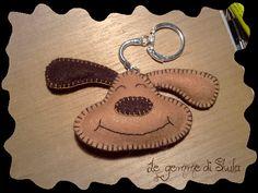 Le gemme di Shula: gioielli ed accessori artigianali in Swarovski e Miyuki...: Cagnolino portachiavi...