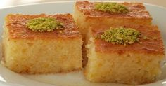 Top Most Popular Traditional Turkish Desserts - Cuisine and Recipes, Featured - Greek Sweets, Greek Desserts, Turkish Sweets, Turkish Dessert, Turkish Recipes, Greek Recipes, Basbusa Recipe, Best Basbousa Recipe, Sweets Recipes