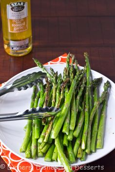 Roasted Spiced Asparagus. In a gallon sized bag mix montreal steak seasoning, a litle vegetable oil, and asparagus. Let marinade. Put tin foil on the grill then dump everything in the gallon bag onto the tinfoil. Lower the bbq grill top and cook for 2-4min. Be careful not to let the bag touch the tin foil or grill. (It melts really fast)