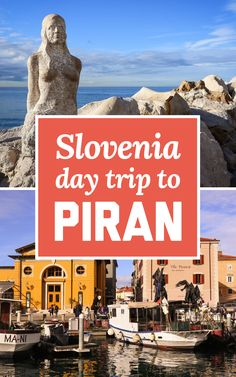 If you're thinking about a trip to the Slovenian coast, here's my suggestions on how to plan a day trip to Piran from Ljubljana! | A Globe Well Travelled Top Europe Destinations, Europe Travel Tips, Amazing Destinations, Travel Guide, Eastern Europe, Slovenia, Travel Essentials, Day Trip, Trip Planning