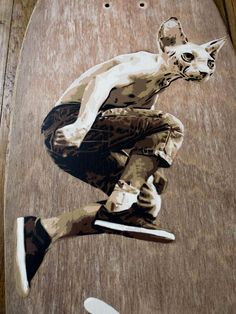 Street art by TUCO