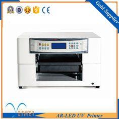 multi purpose a3 size inkjet  printing machinery mini uv printer for leather