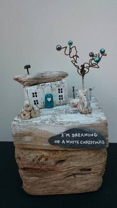 Check out this item in my Etsy shop https://www.etsy.com/uk/listing/472375384/driftwood-cottage-christmas-rustic-house