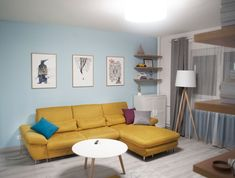 """Check out my @Behance project: """"One room apartment in Bucharest"""" https://www.behance.net/gallery/61150433/One-room-apartment-in-Bucharest"""