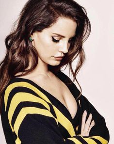 "He says to ""be cool"" but I don't know how yet...  Lana for GRAZIA Magazine"