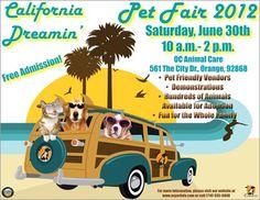 California Dreamin' Pet Fair 2012 - Saturday, June 30th