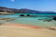 Fabulous Beaches: Elafonisi  is an island located close to the southwestern corner of the Mediterranean island of Crete, of which it is administratively a part, in the regional unit of Chania.