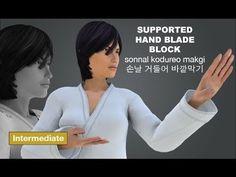 Taekwondo Blocks - sonnal kodureo makgi 손날 거들어 바깥막기 (Supported HandBlade...