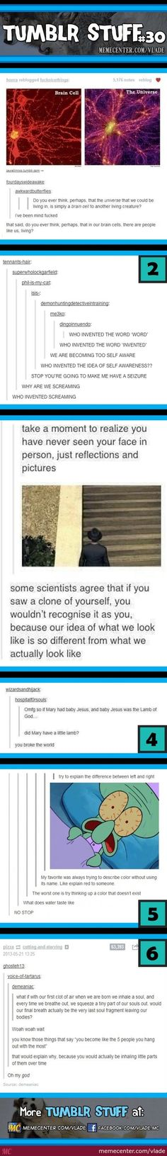 Makes you think
