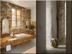Lakberendezés, rusztikus - Antik bútor, egyedi natúr fa és loft designbútor, kerti fa termékek, akácfa oszlop, akác rönk, deszka, palló Wabi Sabi, Bathroom Vanity, Sweet Home, Bathroom, Decor, Furniture, Rustic Furniture, House, Bathtub
