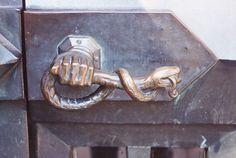 Door handle in Denmark