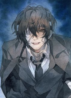 Dazai Bungou Stray Dogs, Stray Dogs Anime, Anime Demon, Manga Anime, Anime Art, Manhwa, Dark Anime Guys, Dog Wallpaper, Dazai Osamu