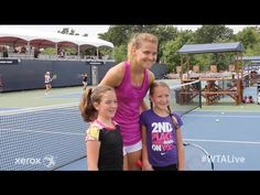 Lucie Safarova   WTA Live Fan Access presented by Xerox   2015 Rogers Cup - YouTube