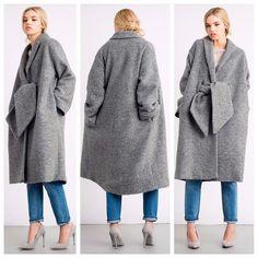 Пальто oversize 1950s Fashion, Slow Fashion, Fashion Outfits, Womens Fashion, Pretty Outfits, Dress Collection, Dame, Winter Fashion, Dress Up