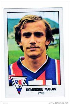 panini football 79 1979   OL Lyon Olympique Lyonnais Dominique Marais  N° 85