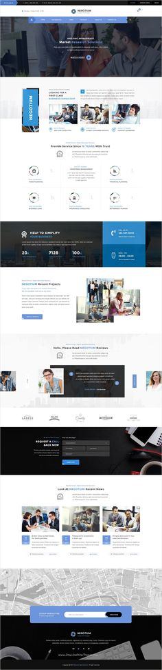 Negotium is a perfect #Photoshop #template for #consulting, #broker agencies financial companies, business firms or investment website with 3 uniuqe homepage layouts and 14 organized PSD pages download now➩ https://themeforest.net/item/negotium-business-finance-consultation-multipurpose-psd-template/16892214?ref=Datasata