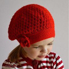 Úžasná! červená by tvorIvka - SAShE.sk - Handmade Čiapky