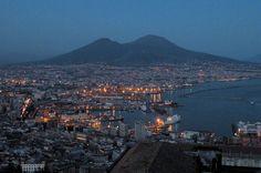 Naples Night view