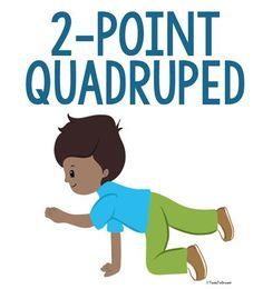 2-Point Quadruped Position - Copyright ToolsToGrowOT.com