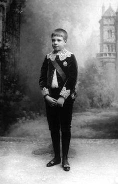 Infante Manuel, Duke of Beja(1889-1932) (future King Manuel II) in 1896