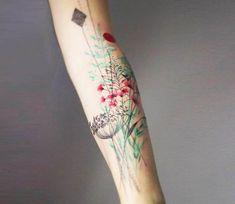 Plants tattoo by Marta Lipinski