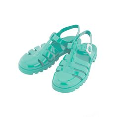 TOPSHOP HUEY2 Gladiator Jelly Sandals ($40) ❤ liked on Polyvore featuring shoes, sandals, flats, jellies, topshop, mint, mint green shoes, mint green flats, flat pumps and flat shoes