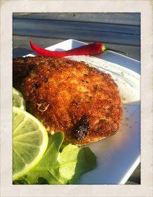 Malin's Diner: PANKOPANERADE FISKBIFFAR MED SMAK AV ASIEN