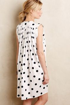 Dotted Chambray Shift - anthropologie.com
