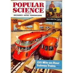 Cover Print of Popular Science Magazine, March 1954 | $4.72