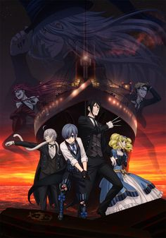 Black Butler: Book of the Atlantic Film's 2nd Promo, Additional Cast Unveiled - News - Anime News Network