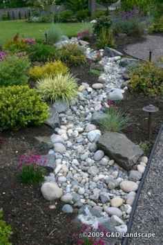 25 Gorgeous Dry Creek Bed Design Ideas Landscaping With River RockRiver