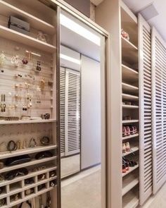 Jewelry and shoe storage