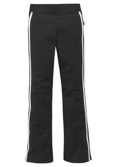 Produkttyp , Jazzpants, |Qualitätshinweise , Hautfreundlich Schadstoffgeprüft, |Materialzusammensetzung , Obermaterial: 95% Baumwolle (unterstützt Cotton made in Africa) , 5% Elasthan, |Material , Baumwolle, Sweat, |Farbe , Schwarz, |Passform , schmale Form, |Beinform , ausgestellt, Bootcut, |Beinlänge , lang, |Leibhöhe , normal, |Schnittdetails , aufgesetzte, seitliche Streifen, |Bund + Versch...