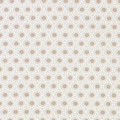 kankaita.com Cotton Ympyrä 10 - Puuvilla - beige