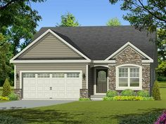 ePlans+Ranch+House+Plan+–+Compact+Ranch+For+Narrow+Lot+–+1362+Square+Feet+and+3+Bedrooms+from+ePlans+–+House+Plan+Code+HWEPL78029