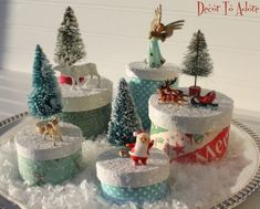 Christmas Treasure Boxes