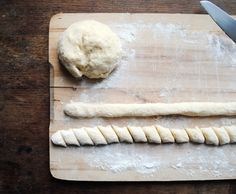 Light as air gnocchi: interesting idea-if you don't have a ricer, use a metal seive to make super light gnocchi
