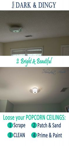 how to clean a textured ceiling