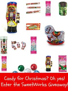 Enter to #win a Candy Prize Package from SweetWorks ($50 Value) #SweetWorksHoliday #sponsored - 12/19