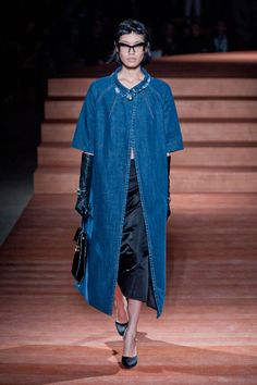 digging the denim duster...miu-miu ss2013