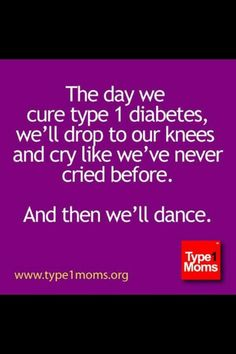 My only dream-not just for moms. I'm almost 50 ,was diagnosed at 4. So I'm ready!