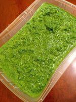 Pasticciando in cucina con il Cuisine Companion Moulinex: Pesto di spinaci (versione semplice)