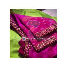 Cutwork Blouse Designs, Wedding Saree Blouse Designs, Simple Blouse Designs, Stylish Blouse Design, Hand Embroidery Designs, Wedding Blouses, Designer Blouse Patterns, Sari, Red Saree